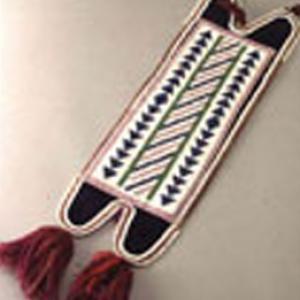 Polsino,  1885 circa (fattura Ojibway, decorazione Cree)