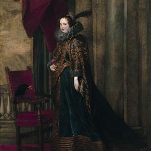 """Antoon Van Dyck """"Paolina Adorno Brignole-Sale"""""""