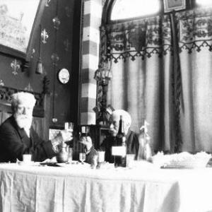 Sala da pranzo estiva (Aprile 1917)