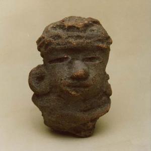 Testina antropomorfa, III – IV secolo d.C. (Teotihuacán II), Messico