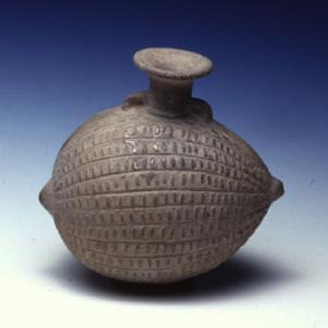 Vaso a forma di cucurbitacea (melone)
