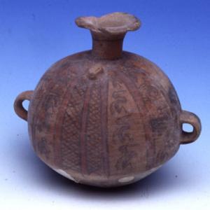 Vaso ariballoide, XV-XVI sec. d.C. (Inca)