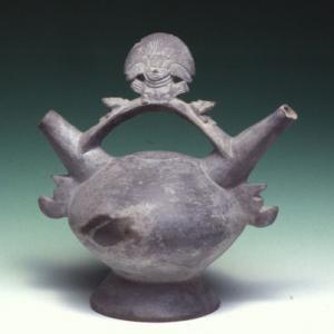 Vaso biconico, X – XII sec. d.C. (Chimù – Lambayeque)