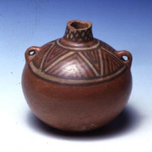 Vaso-bottiglia globulare,  II sec.a.C. – VII sec. d.C. (Lima)