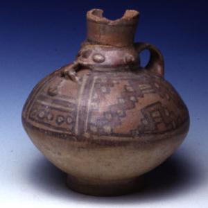 Vaso-bottiglia, II sec.a.C. – VII sec. d.C. ( Lima)