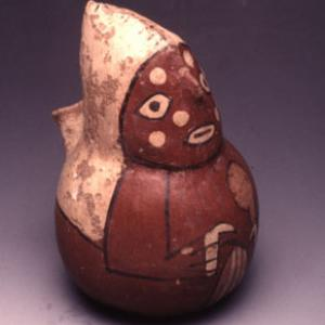 Vaso antropomorfo, 0 – 125 d.C. (Nasca 5)