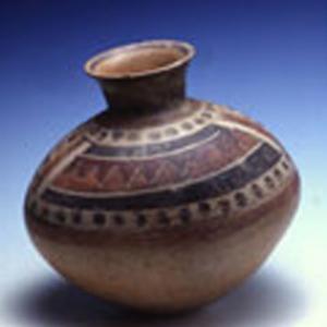 Vaso ovoidale,   1350 – 1450 d.C. (Ica – Chincha)