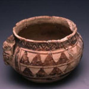 Vaso globulare, XI – XVI sec. d.C. (Chancay)