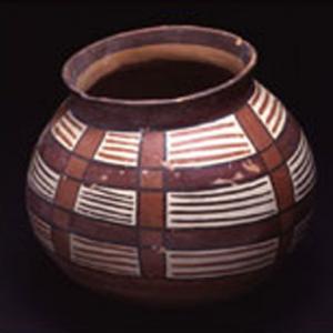Vaso globulare,  (Nasca – Tiawanaku)