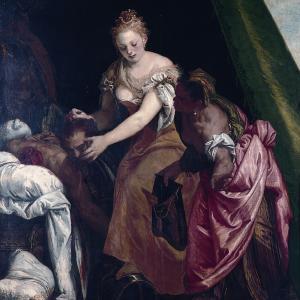 Giuditta e Oloferne, (circa 1580)