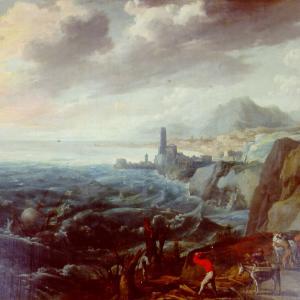 Novembre - Burrasca in mare
