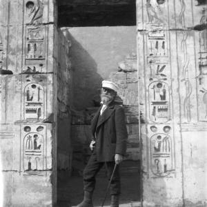 Il Capitano nel Tempio di Ramsess III, Antica Tebe