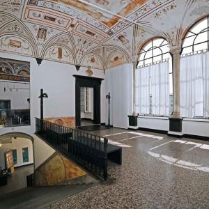 Villa Doria - accesso piano nobile