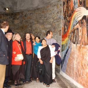 Il mural - Inaugurazione