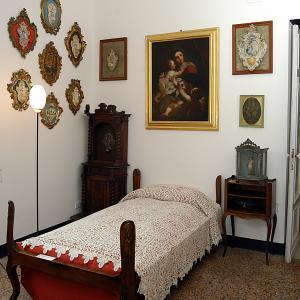 Museo Luxoro - camera da letto