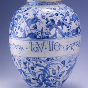 Maioliche liguri - vaso