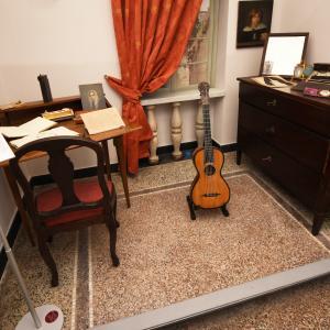 Ricostruzione dello studio di Giuseppe Mazzini