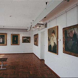 Raccolte Frugone - sala degli artisti stranieri