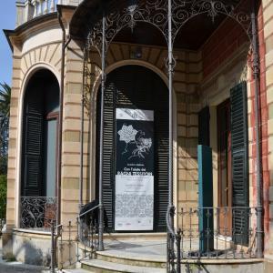 Villa Saluzzo Serra, Galleria d'Arte Moderna, bovindo del prospetto meridionale 2