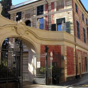 Villa Saluzzo Serra, Galleria d'Arte Moderna di Genova, ingresso