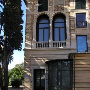 Villa Saluzzo Serra, Galleria d'Arte Moderna, prospetto orientale