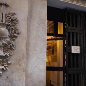 Museo del  Risorgimento - particolare della decorazione