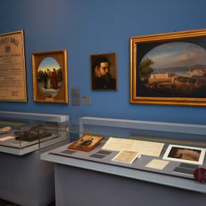 Museo del  Risorgimento - sezione dedicata a Goffredo Mameli