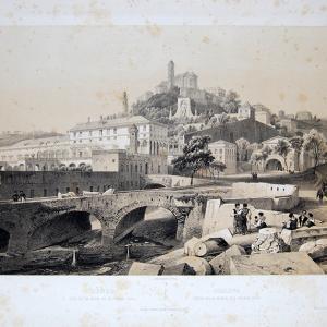 Veduta del Palazzo del Principe e della collina di Granarolo