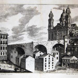 Veduta del ponte di Carignano