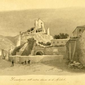 La chiesa di san Michele in demolizione