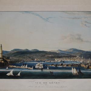 Veduta di Genova dal Mare