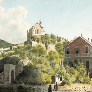 Colle e chiesa di Oregina