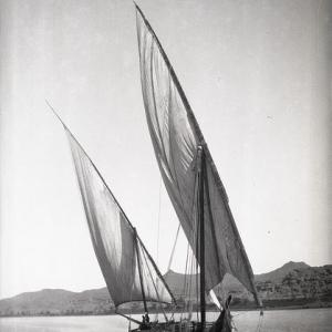 Gaiassa lungo il Nilo, 1901