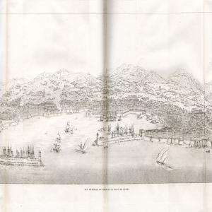 Porta Siberia veduta di Genova