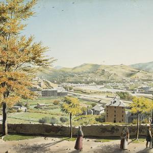 Panorama di Genova dalle mura di Santa Chiara