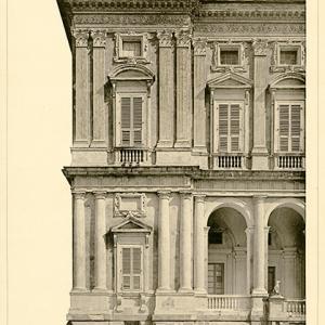 Villa Cambiaso dettaglio della facciata