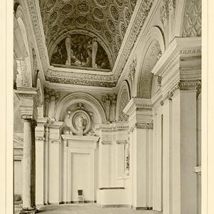 Villa Cambiaso veduta parziale della loggia