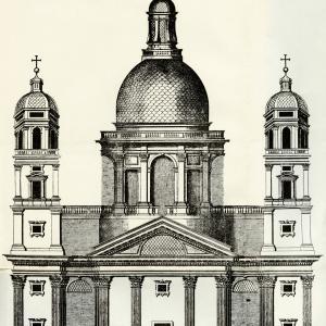 Facciata de Santa Maria de Carignano de Sig.ri Sauli