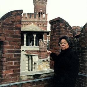 Ursula Roach, prima Hopi a Castello D'Albertis, 1998