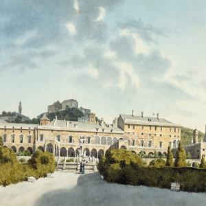 Veduta del palazzo del principe Doria a Fassolo