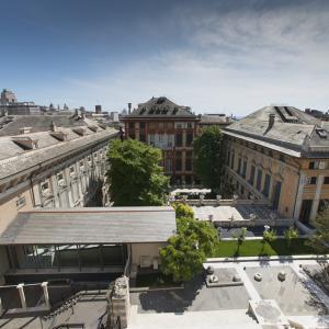 Il camminamento fra Palazzo Bianco e Palazzo Tursi