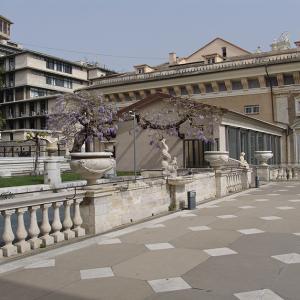 Giardino superiore e terrazzo Palazzo Bianco