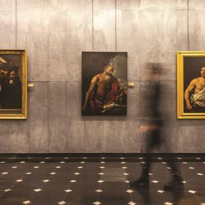 Sala di Caravaggio - Palazzo Bianco