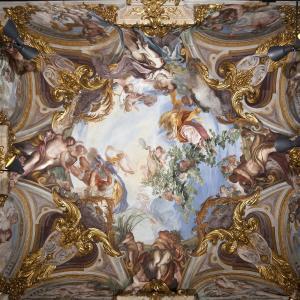Gli affreschi di Gregorio De Ferrari a Palazzo Rosso